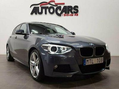 begagnad BMW 125 218hk F20 M-Sport Navi   H&K   Finans
