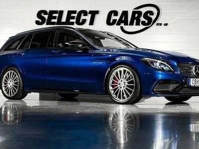 begagnad Mercedes C63S AMG AMGT AMG Speedshift MCT Eu6 510hk