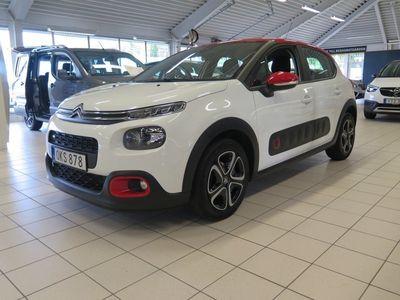begagnad Citroën C3 PureTech 82hk Motorvärmare