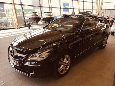 begagnad Mercedes E200 Cabriolet 7G SENSOMMARPRIS