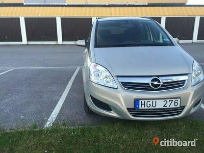 begagnad Opel Zafira enjoy 08