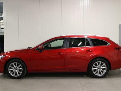 begagnad Mazda 6 Wagon 2.2 SKYACTIV-D Automatisk 150hk/Drag/Navi