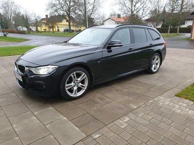 begagnad BMW 318 d M-sport X-drive Lågmil