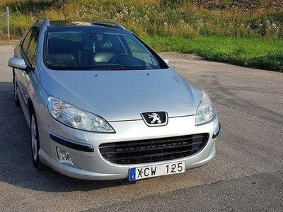 begagnad Peugeot 407 SW 2.2 158hk