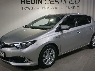 begagnad Toyota Auris Hybrid 1.8 136hk *Navi & Panorama