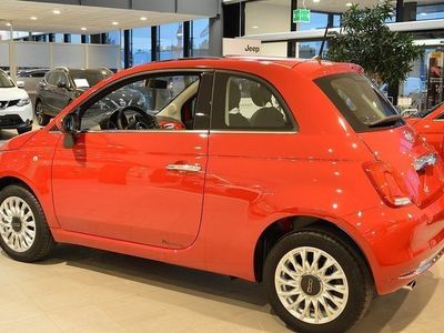 begagnad Fiat 500 1,2 Lounge Glastak Privatleasing fr 1. DEMO 2016, Halvkombi 117 900 kr