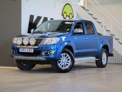 begagnad Toyota HiLux Dubbelhytt | 3.0 | D-4D | 4x4 | Automatisk | 171hk | 2015