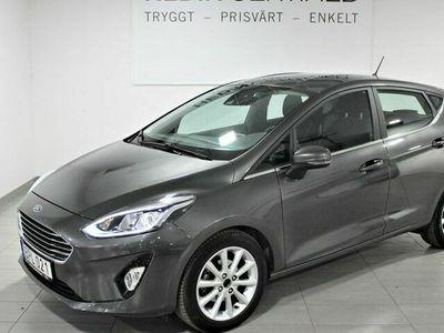 begagnad Ford Fiesta 1.0T 100hk Aut S&V - Hjul Skatt 514 Kr