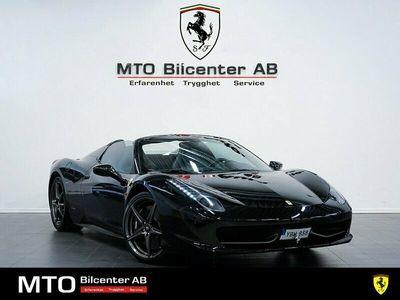 begagnad Ferrari 458 Spider 4.5 V8 DCT Skalstolar 2012, Cab Pris 1 765 000 kr