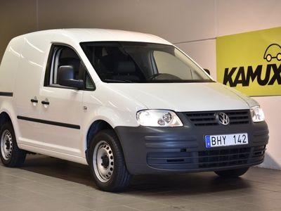begagnad VW Caddy 2.0 Ecofuel Skåp 109hk Drag Låga mil