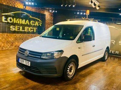 begagnad VW Caddy Maxi 2.0 TDI BLUEMOTION EURO 6 2017, Transportbil Pris 119 900 kr