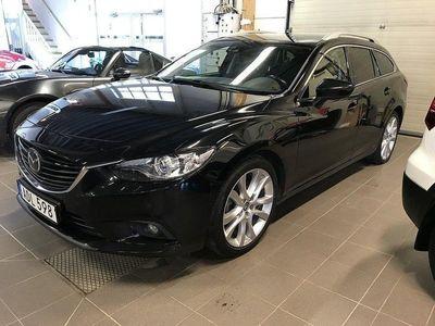 begagnad Mazda 6 6 Wagon 2.2D Automat Euro175hk Optim