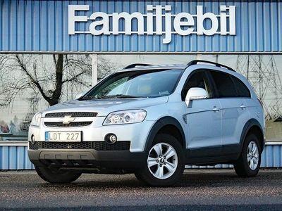 begagnad Chevrolet Captiva 2.0D 4WD (150hk) Aut/Nybes/Drag/Svensksåld