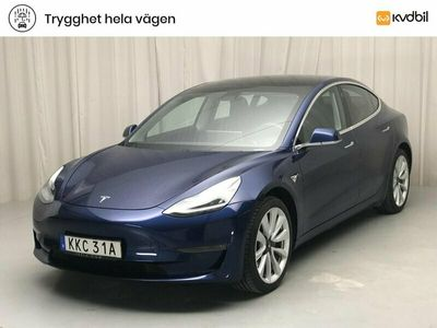 begagnad Tesla Model 3 Long Range AWD