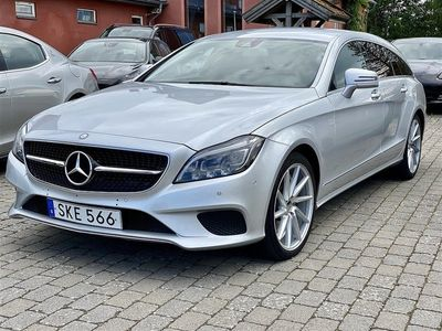 begagnad Mercedes CLS250 Shooting Brake d 4MATIC 9G-Tronic, 204hk