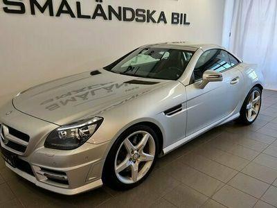 begagnad Mercedes 200 SLK BenzBlueEFFICIENCY 7G-Tronic Plus AMG Sport 2012, Cab Pris 259 000 kr