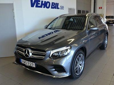 begagnad Mercedes GLC220 d 4Matic, AMG Line, Panorama, Navigation, Backkamera