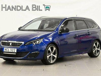 begagnad Peugeot 308 SW 2.0 BlueHDi Aut GT Pano Navi