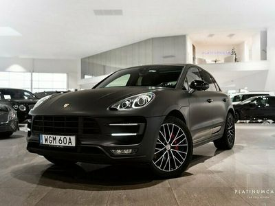 begagnad Porsche Macan Turbo PDK PANORAMA SE SPEC 2017, SUV 619 000 kr