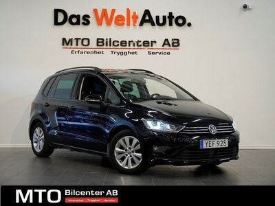 begagnad VW Golf Sportsvan 1.6TDI DSG Premium Style 110hk