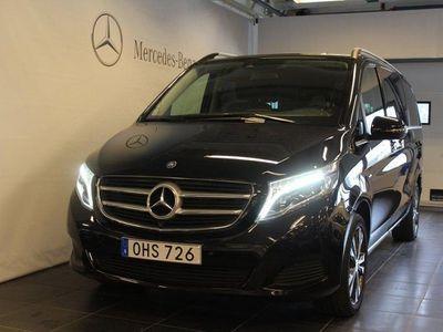 begagnad Mercedes V220 d Avantgarde /Euro 6 / 7-sits / Eldörrar