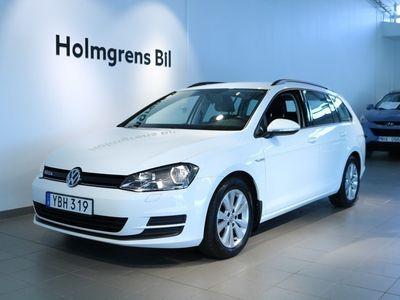 begagnad VW Golf VII 1.6 TDI BlueMotion Sportscombi 110hk