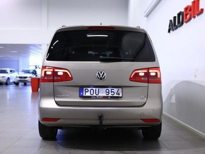 begagnad VW Touran TDI 105hk DSG BM Masters Dragpaket (Drag, 7-Sits)