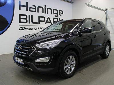 begagnad Hyundai Santa Fe 2.2 CRDi 4WD Shiftronic 200hk / DRAG / KAMKEDJA /