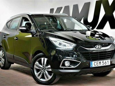 begagnad Hyundai ix35 2.0 | CRDi | 4WD | Automat | Drag | Pano | Skinn
