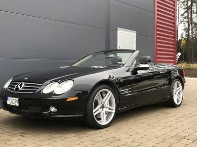 begagnad Mercedes 600 SL BenzV12 Fullutrustad 2005, Cab 314 900 kr