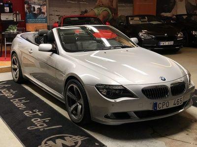 begagnad BMW 650 i Convertible 4.8 V8 Automatisk (367hk) NYINKOMMEN!