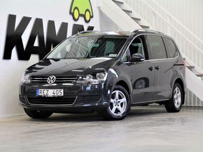 begagnad VW Sharan 2,0 TDi | Masters | Webasto | Panorama