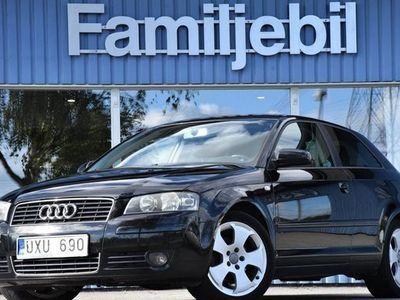 begagnad Audi A3 2.0 FSI Ambition Comfort Skinn 2004, Halvkombi 32 700 kr