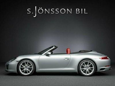 begagnad Porsche 911 Carrera Cabriolet 911 991.2 Sportavgas / Inkommande /