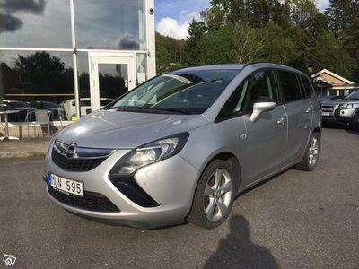 begagnad Opel Zafira 2.0 CDTi 165HK/AUT Drag Sv-Såld -12