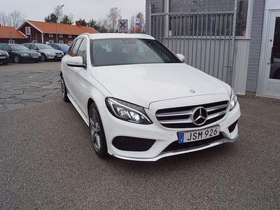 begagnad Mercedes C220 T d 170HK 7G-TRONIC AMG SPORT