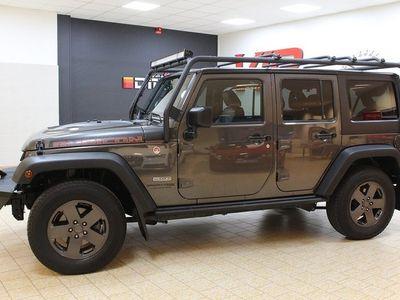 begagnad Jeep Wrangler Unlimited 3.6 V6 4WD Rubicon Euro 6 GPS Drag