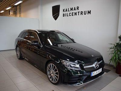 begagnad Mercedes C300 T d 9G-Tronic Euro 6 245hk AMG Line, Dragkrok, Premium pkt