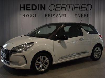 begagnad Citroën DS3 ÖvrigtDS STYLE PureTech 2016, Halvkombi 84 900 kr