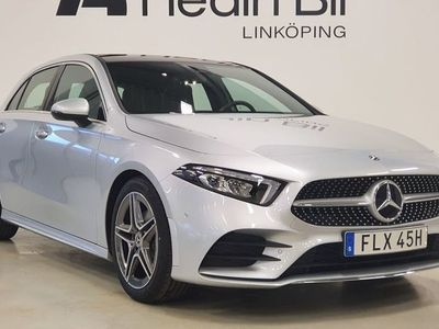begagnad Mercedes A180 AMG-LINE PANORAMA NAVIGATION APPLE CAR-PLAY