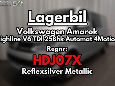 begagnad VW Amarok Highline V6 TDI 258hk Autom