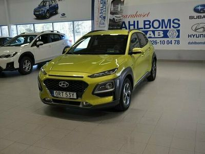 begagnad Hyundai Kona Hybrid Premium Skatt 2020, Personbil Pris 259 900 kr