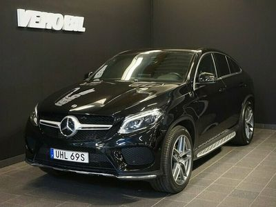 begagnad Mercedes GLE350 4-Matic Coupé 9G-Tronic AMG