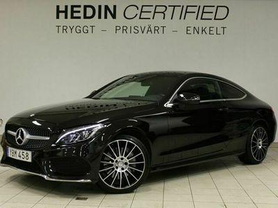 begagnad Mercedes E250 - Benz C - Klass d Coupe AMG, Airmatic, Panorama,