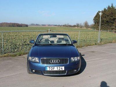 begagnad Audi A4 Cabriolet 2.4 V6 170hk -05