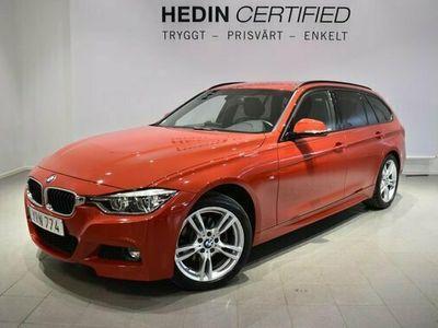 begagnad BMW 320 3 D xDrive M-sport Skinnklädsel V S-hjul 2019, Kombi Pris 314 900 kr