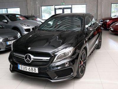 begagnad Mercedes GLA45 AMG AMG Kolfiber, Sportavgas