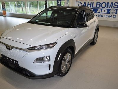 begagnad Hyundai Kona Electric 64 kWh Advanced+ Tvåtons Lack