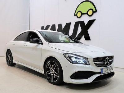 begagnad Mercedes 250 CLA BenzAMG | Backkamera | Navi | H&K | 4Matic | | BLACK WEEKE 2016, Sportkupé 264 800 kr