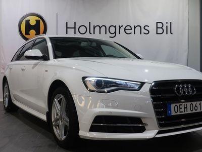 begagnad Audi A6 2.0 TDI Avant Q S-Line (190hk) Värmare